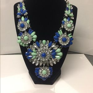 Stunning necklace multi textured necklace.